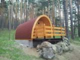 Wood Houses - Precut Timber Framing - Garden Log Cabin - Shed, Pino Norte y Abeto