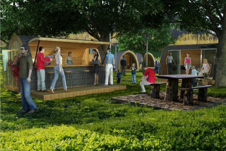 Caba as de madera m viles tipo refugio para camping y - Cabanas de madera en madrid ...