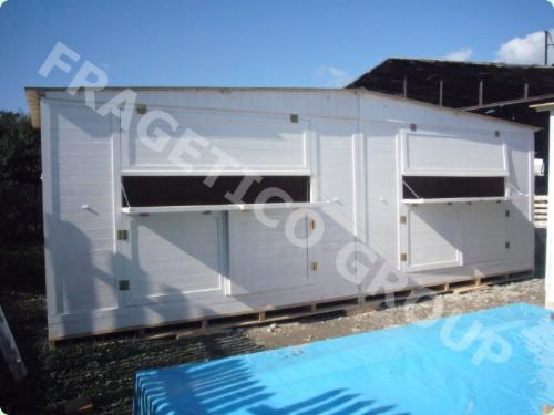 Wholesale Wooden Houses Spruce 14.8 m2 (sqm) from Romania