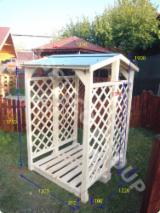Garden Furniture ISO-9000 - Firewood shelter