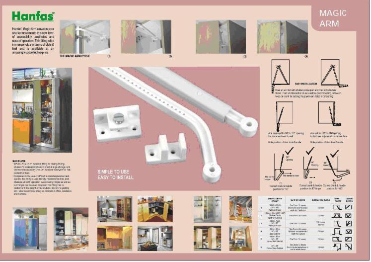 Knobs and pulls, Plastic, PVC
