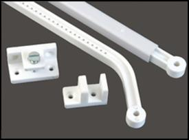 Knobs and pulls, Plastic, PVC