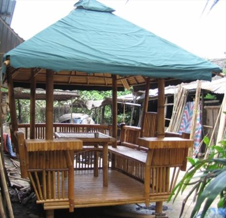 Bamboo Gazebo, Bamboo Furniture