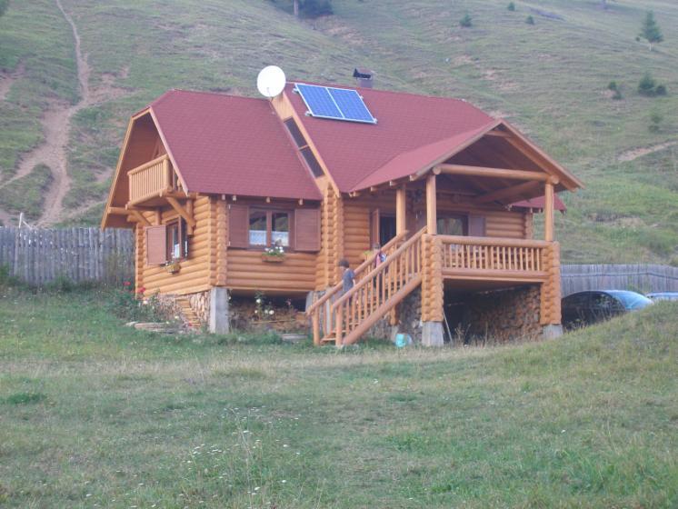 Case Di Tronchi Romania : Casa di tronchi canadese abete legni bianchi resinosi europei