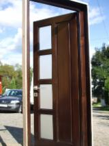 Doors, Windows, Stairs Spruce Picea Abies - Whitewood - interior and entry doors made from solid and stratified wood