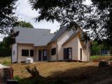 Domy Drewniane - Szkielet Z Belek Przyciętych Na Wymiar  Na Sprzedaż - Dom Z Drewnianym Szkieletem, Świerk  - Whitewood