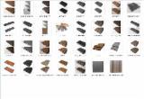 Terrassenholz Zu Verkaufen China - Verbundholz, FSC, Belag (4 Abgestumpfte Kanten)