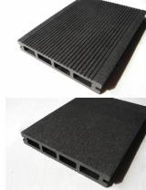 Terrassenholz Verbundholz - WPC Wood Plastic Components - FSC, Rutschfester Belag (2 Seiten)