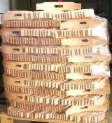 Solid Wood Components For Sale - Pallet full of slat back chair bent back part to sell