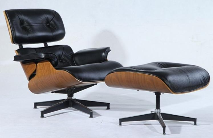 Charles-Eames-Lounge-Chair-and-Ottoman-