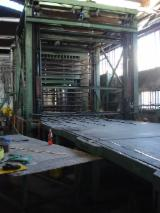 Used 1st Transformation & Woodworking Machinery - Pressing line OLM 12 rooms 2000x2700 mm