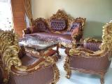 Art & Crafts/Mission Living Room Furniture - Teak Sofa Royal Calista Tokyo Promo
