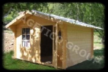 Cabanas De Férias Abeto - Whitewood Madeira Macia Européia Roménia
