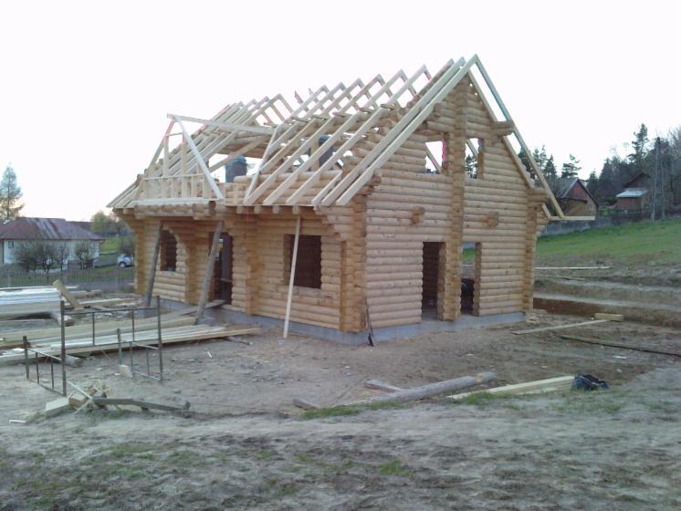 Casa di tronchi canadese larice for Case di tronchi ranch