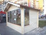 Enquadramento De Telhado Pré-moldado Abeto - Whitewood Madeira Macia Européia Roménia