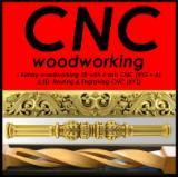 CNC Machining (3 & 4-axis rotary 360 degrees) -milling 3D, 2D cutting, nesting, CNC turning