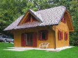 Maisons Bois à vendre en Croatie - Vend Maison À Ossature Bois Pin Taeda Résineux Sud-américains