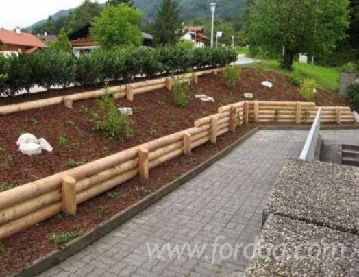 Venta estacas abeto madera blanca pino silvestre - Estacas de madera para cierres ...