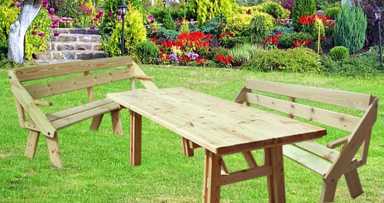 Vend Tables De Jardin Contemporain Résineux Européens Pin ...