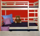 Children's Room Spruce Picea Abies - Whitewood - beds for childrens