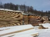 Sawn Softwood Timber  - FSC 24 mm Fresh Sawn Fir/Spruce Planks (boards) from Romania, Mures