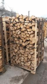 Oak firewood wet