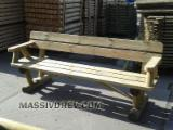 Garden Furniture Kit - Diy Assembly Pine Pinus Sylvestris - Redwood - Garden furniture from producer