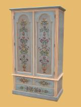 Traditional Bedroom Furniture - handpainted wardrobe
