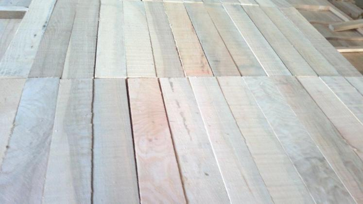 Ash strips white and brown