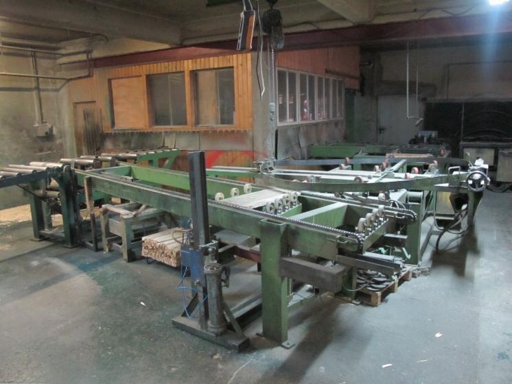 Herstellungsanlage für Kabeltrommeln aus Holz bis Durchmesser 3.400mm