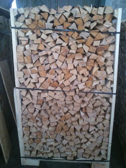 Buchen-Brennholz