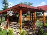Négoce De Produits De Jardin En Bois - Pergola en bois