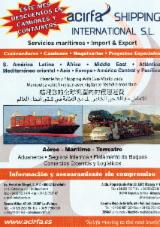 Transport Services - Transporte  terestre, 40.0 - 50.0 40'Containers per month