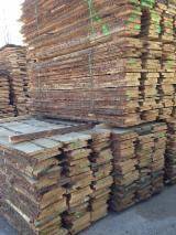 Oak  Unedged Timber - Boules - oak timber