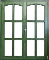 Porte, Finestre, Scale, Persiane E Cofani Europa - Finestre CE Abete  - Legni Bianchi