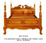Bedroom Furniture FSC - Solid wood poster bed.