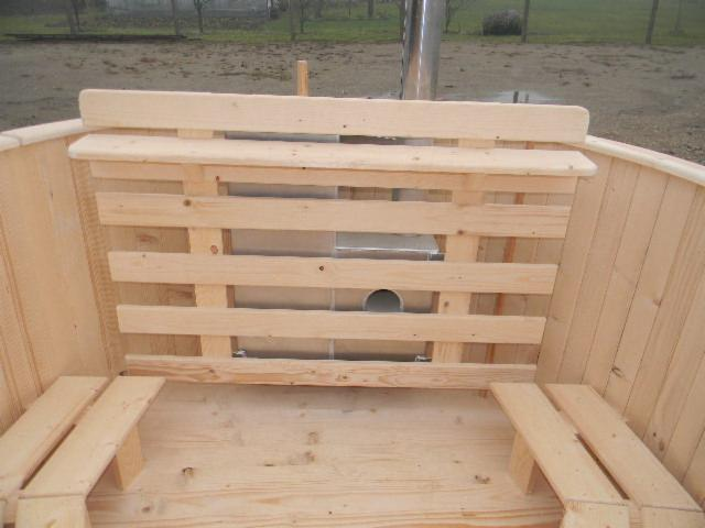 Vend piscine structure bois r sineux europ ens for Structure piscine bois