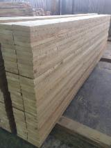 Germany Sawn Timber - FSC, 32; 38; 47; 50 mm, Shipping dry (KD 18-20%), Siberian Larch, Russia, Bratsk, Irkutsk, Lesosibirsk und Krasnojarsk