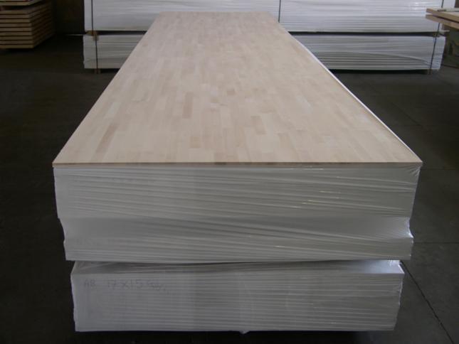 Beech FJ Solid Wood Panels, FSC, 4500-5500 mm