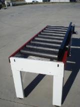Macchine Lavorazione Legno In Vendita - RULLIERA MOTORIZZATA o FOLLE DA 2000-4000 mm NUOVA VARI MODELLI rulli