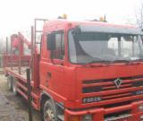 Romania Supplies Used Short Log Truck in Romania
