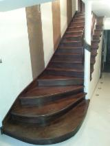Stairs from Poland - Hardwood (Temperate), Aspen (popple) (North America), Stairs, Poland