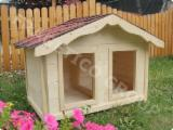 Produse Si Decoratiuni Gradina Din Lemn En Gros - Cusca pentru caine, model Duplex