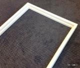 Interior door frame set