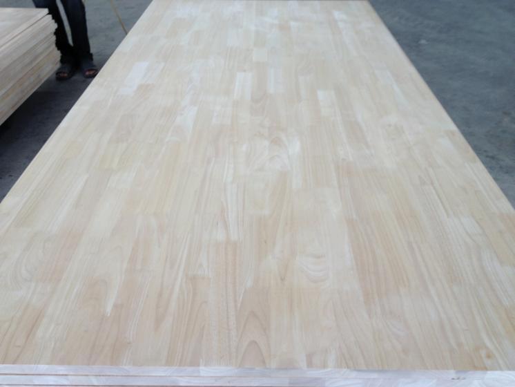 Hevea finger joint panel rubberwood solid wood panel for Finger joint wood doors
