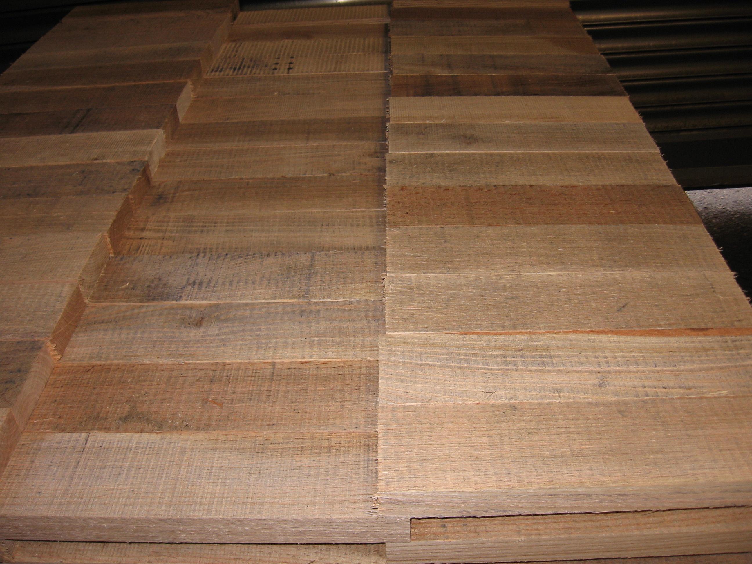红橡木原木板材