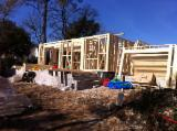 Wood Houses - Precut Timber Framing Spruce Picea Abies - Whitewood - We are building wood houses after CE reglementation