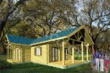 Maison en bois, Model FRG 76 + 30T