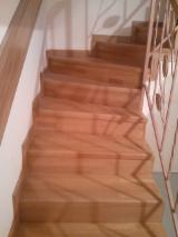 Oak  Finished Products - Oak (European) Stairs from Romania