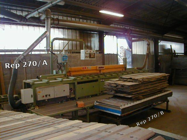 Used-JRION-KMS-DUO--Double-Blade-Edging-Circular-Saw-For-Sale-in